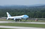Obama landing by 1 megawatt at Chatt. Airport