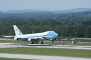 Obama landing by 1 megawatt at Chatt. Airport