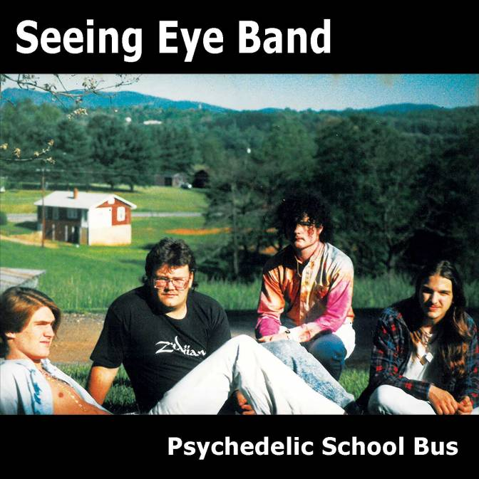Psychedelic School Bus by the Seeing Eye Band